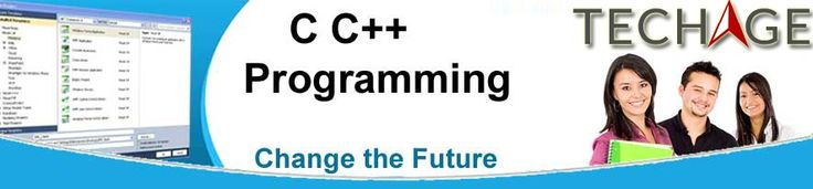 C, C++ Project Training with TechAge Academy in Noida, Delhi/NCR.Call for more details:+91-9212063532, +91-9212043532 Visit:- http://www.techageacademy.com/cc/