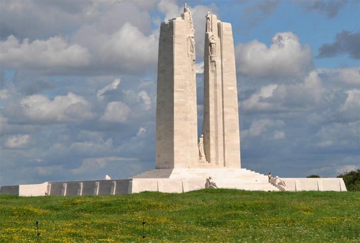 Vimy ridge monument.