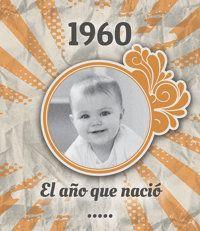 El año en que tú nacíste... ¡Década de los 60! Crea un álbum personalizado muy especial: Qué sucedió el año en que naciste; cuál era la decoración de moda y qué objetos nos rodeaban; cómo se vestía; cuál era el cine, la televisión y la música de más éxito; cómo eran los anuncios… #regalo #cumpleaños #vintage #nostalgia Desde 22,40€ o $29,70