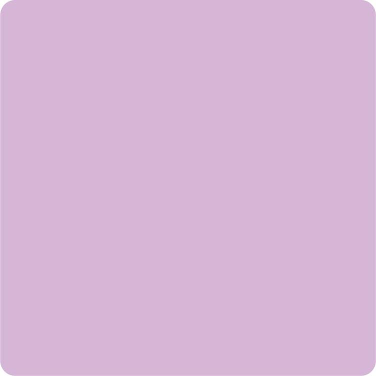 Deze lila kleur vind ik een hele mooie kleur voor in een meisjeskamer.