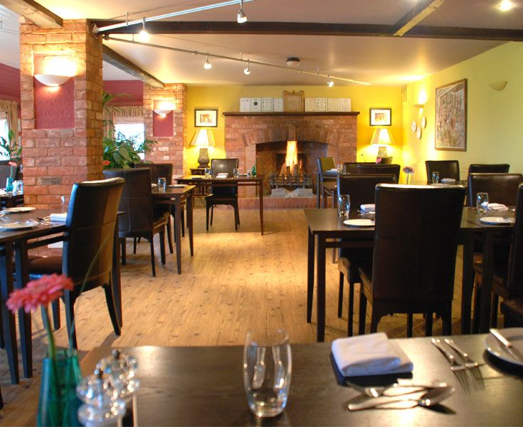 Dine at the Three Choirs restaurant in Newent, Gloucestershire.