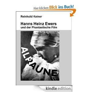 Hanns Heinz Ewers trat als erster deutscher Schriftsteller bereits vor 1914 entschieden für die Belange der Kinematografie ein. Neben seinem theoretischen Engagement schrieb der enthusiastische Verehrer des 'Rollfilms' auch für die Filmindustrie Manuskripte, u.a. ist er der Autor des ersten deutschen ,Kunstfilms', DER STUDENT VON PRAG (1913) - das phantastische Thema, die Persönlichkeitsspaltung, signalisierte bereits ein Merkmal des sogenannten Filmexpressionismus der 1920er Jahre.