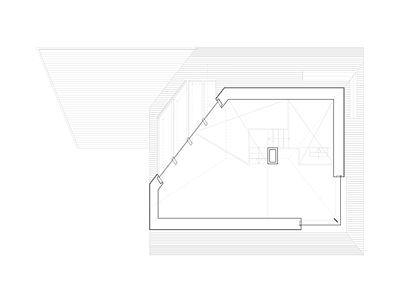 Plán domu - patro
