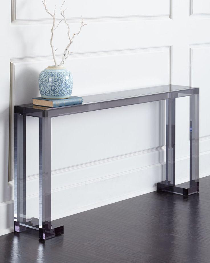 Lovely Acrylic Hall Table