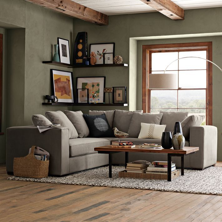 Sectional Sofa Olive Green: 25+ Best Ideas About Olive Green Couches On Pinterest