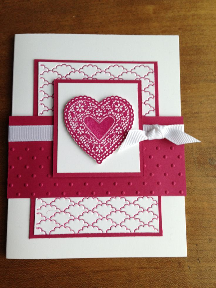 1126 best Card Ideas: Valentine\'s images on Pinterest | Heart and ...