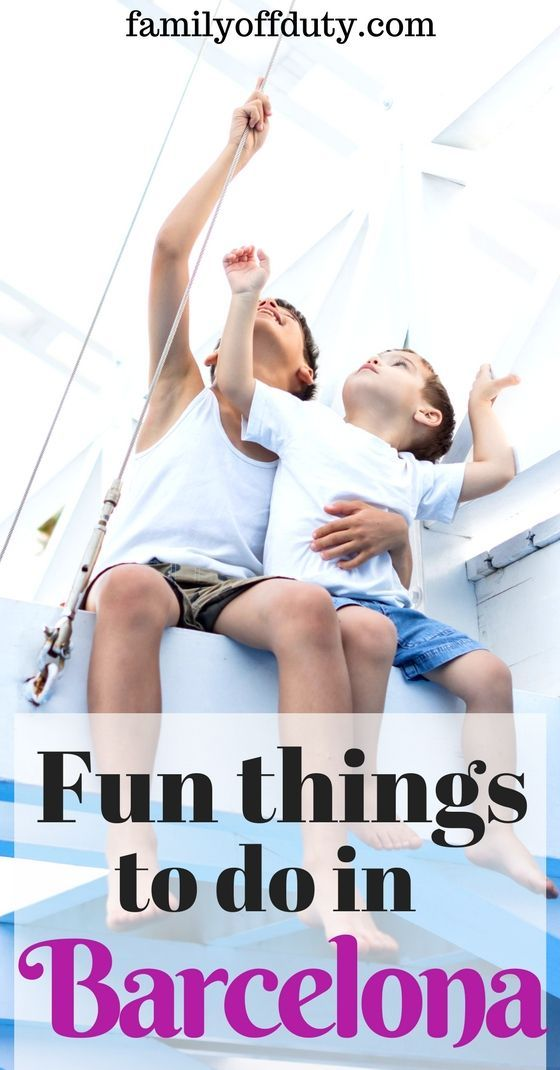 All the fun things to do in Barcelona with children! Check the ultimate guide for things to do with kids in Barcelona before you travel - This is a very family-friendly city. There is plenty of activities in Barcelona for the whole family. From beach to skiing check out the ideas of what you can do with your children in the Catalan capital.