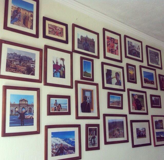 Mi pared de las alegrías , creatividad unos cuantos pesos.