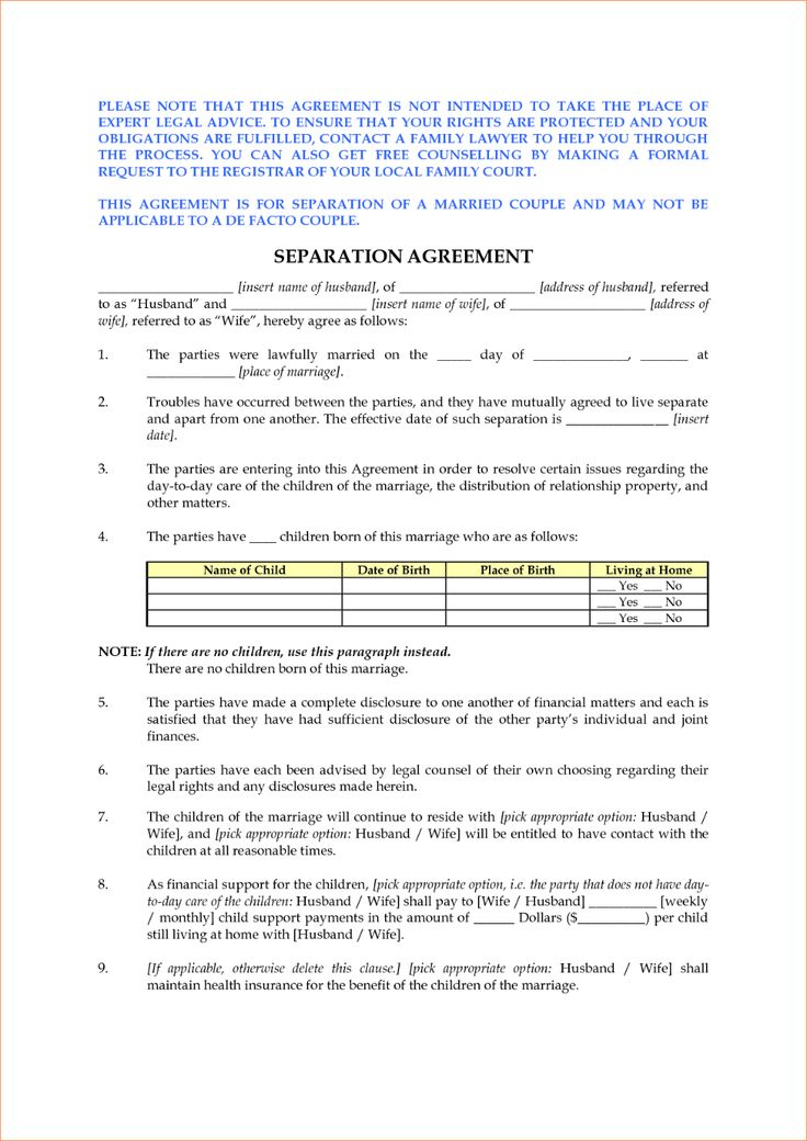 Solar Land Lease Agreement Example Separation agreement