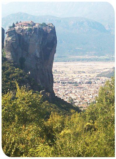 Монастырь Святой Троицы (Αγία Τριάδα). Мереоры. Греция. www.meteora.name