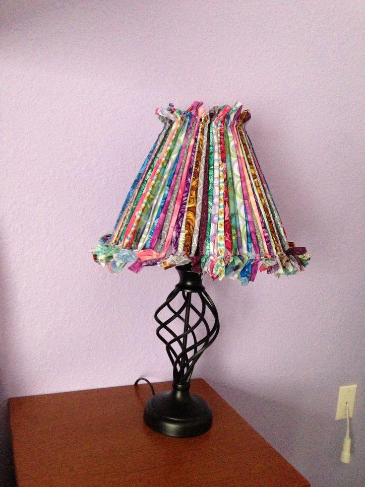 Rag Lamp Shade To Do Pinterest Lamp Shades Shades