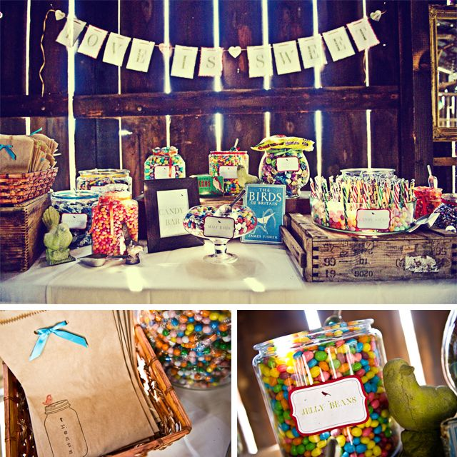 Rustic Wedding Candy Table Ideas: 17 Best Ideas About Rustic Candy Bar On Pinterest