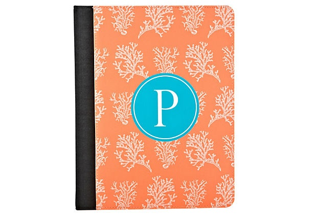 Custom iPad Case, Coral