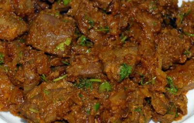 Kaleji Masala (Spicy Liver) Recipe - How to Make Kaleji Masala (Spicy Liver)