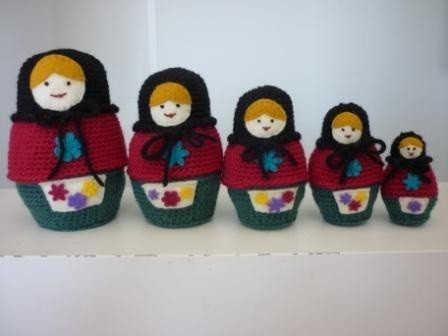 Amigurumi Russian Doll Pattern : Best matryoshka doll russian nesting doll russian Матрёшка