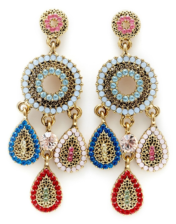 Swarovski crystals earrings