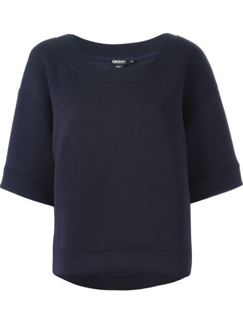 Dkny Boxy Sweatshirt | ModeSens | Sweatshirts, Dkny, Boxy
