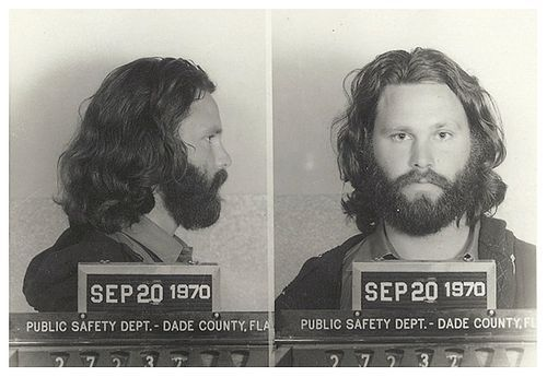 Jim Morison was a sex simbol in music, so he gained weight, grew a beard and pissed on stage. He was a musician not a pornstar.
