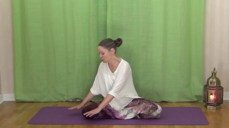 Startpaket 2 - 30 minuter - Mediyogapass för höfter, rygg & axlar  #mediyoga #medicinskyoga #meditation