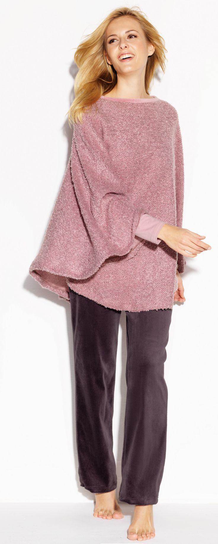 CYBÈLE Podzim-Zima 2015/2016   Volnočasové prádlo   Pončo   Kalhoty   Loungewear   Poncho   Trousers   www.naturana-plavky-pradlo.cz