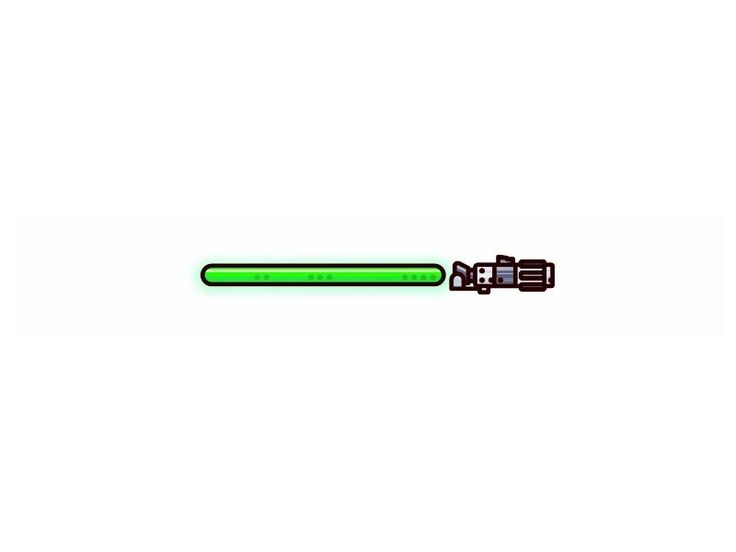 DPS — Starwars !! Yoda Lightsaber !!...