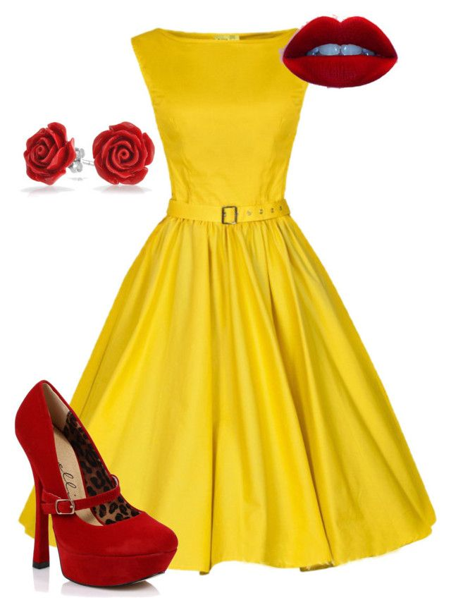 """""""Beauty and the Beast bridal shower"""" by abigail-meadows on Polyvore"""