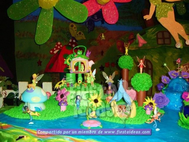 Decoracion de TORTAS CAMPANITA tinkerbell on Pinterest | Ideas ...