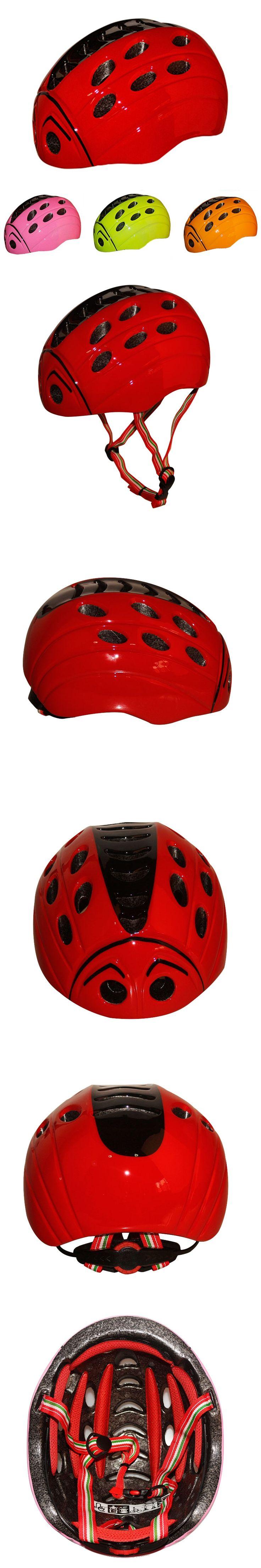 Kid's Bicycle Helmet Ultralight Integrally-molded Children Bike Helmet Cycling Helmet Child Ciclismo 52-57CM S Size KY-E006