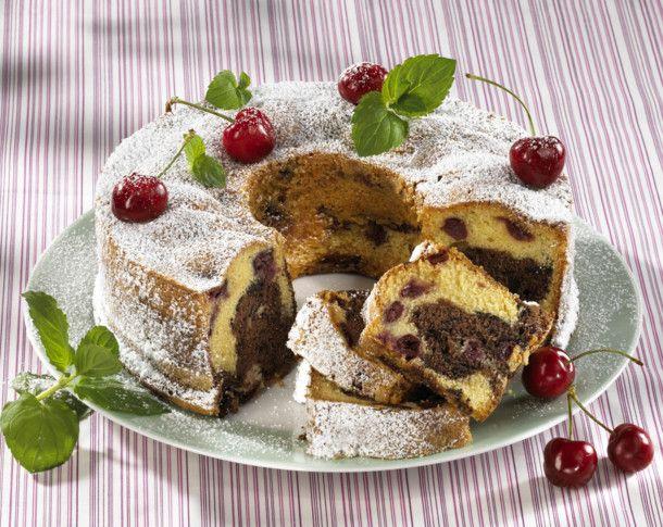 Unser beliebtes Rezept für Kirsch-Schoko-Marmorkuchen mit Hermann-Teig und mehr als 55.000 weitere kostenlose Rezepte auf LECKER.de.