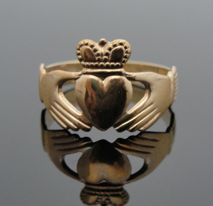 a97961dffca2b15b17bb2fb51c397a14 gold claddagh ring irish wedding