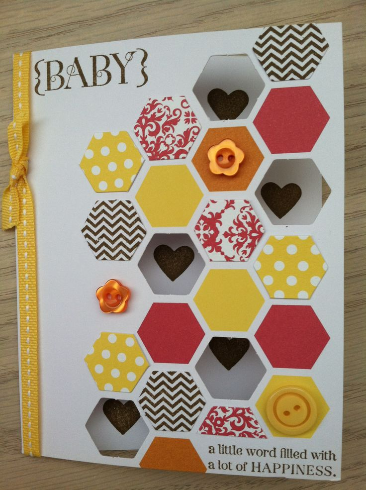 45 best Stampin up baby shower images on Pinterest   Baby showers ...