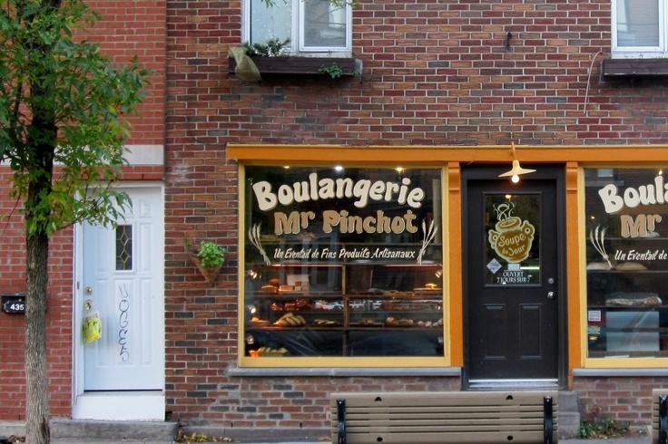 La Boulangerie Mr Pinchot. Une délicieuse boulangerie. Coup de coeur pour les brownies... http://bit.ly/mVZaLK