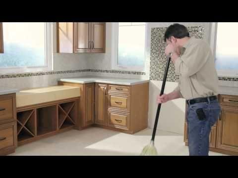 Sub-floor Preparation for Installing Your Peel-and-Stick Vinyl Tile Floor - YouTube