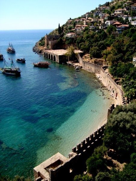 Fancy - Alanya, Turkey perhaps a visit to this beach next year...