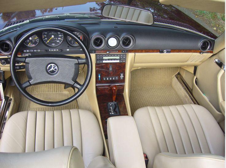 Extrêmement 185 best Mercedes SL R107 images on Pinterest | Classic mercedes  GY68