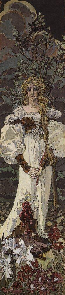 Мир Врубеля. Маргарита. 1896