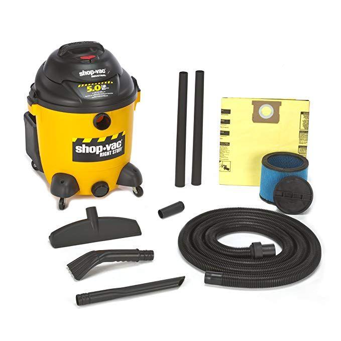 Shop Vac 9625110 5 0 Peak Horsepower Right Stuff Wet Dry Vacuum 12 Gallon Review Wet Dry Vacuum Shop Vac Wet Dry Vac
