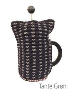 Kaffevarmer til lille stempelkande i Firkløver