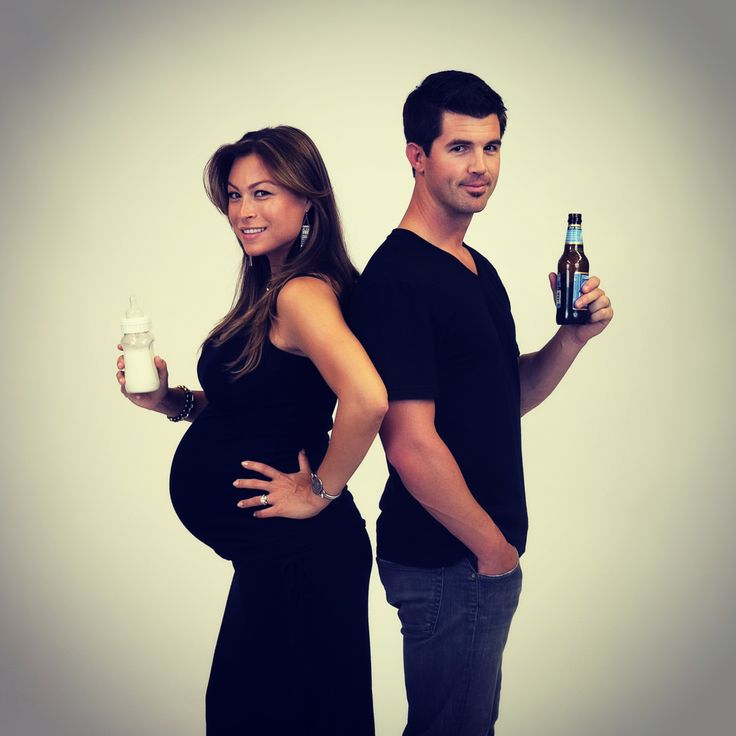 Funny pic from our maternity shoot last week