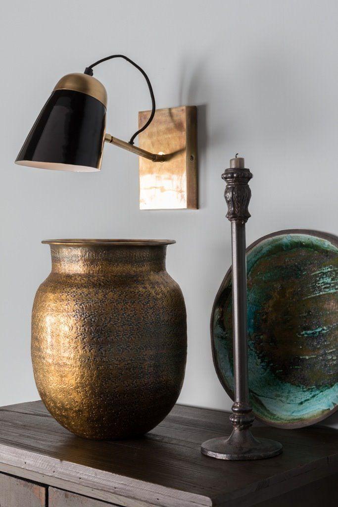 Dutchbone Kinkiet Old School 5400003 : Kinkiety metalowe : Sklep internetowy Elektromag Lighting #vintage #lighting #lamp