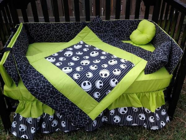 Jack Skellington Crib Day Bed Sheets For My Army Of