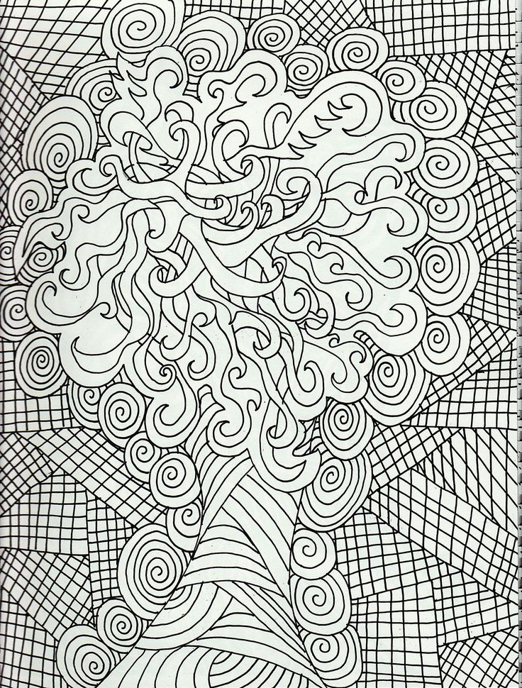 Coloriage pour adultes -- Coloring Pages for Adults
