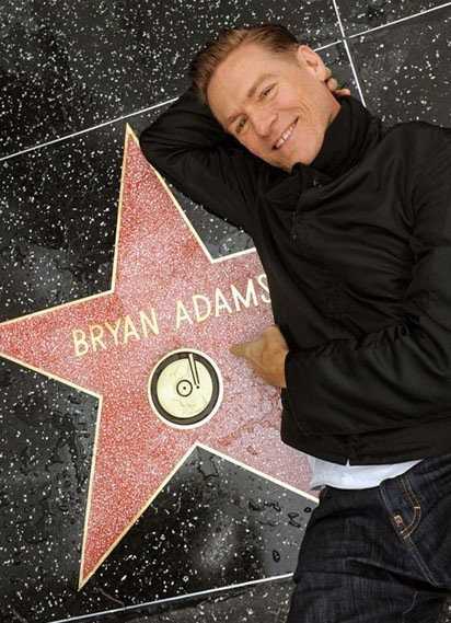 Bryan Adams star at the Walk of Fame... How did I not see this when I was in Hollywood?!
