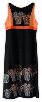 ALISE - Vestido Rusó en modal con lycra - estampado artesanalmente - coleccion primavera verano 12/13 Selva de Plata - en Vidrierahype!