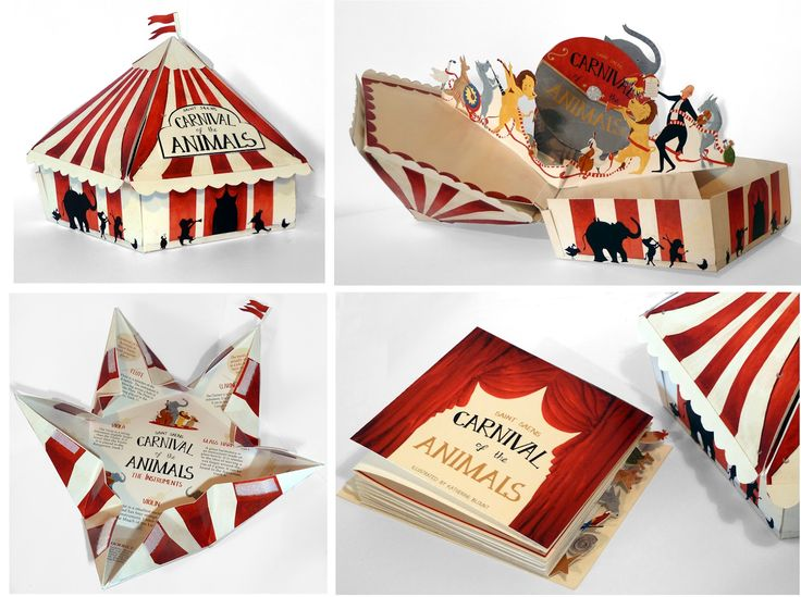 Katherine Blount: Carnival of the Animals Package Design