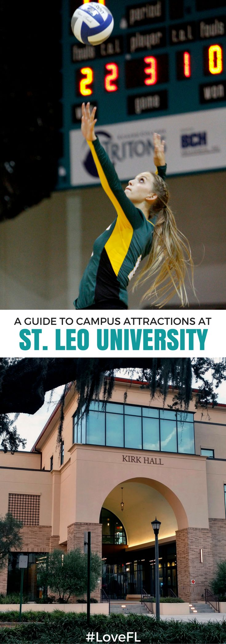 A guide to campus attractions at St. Leo University | #Florida #College #Travel
