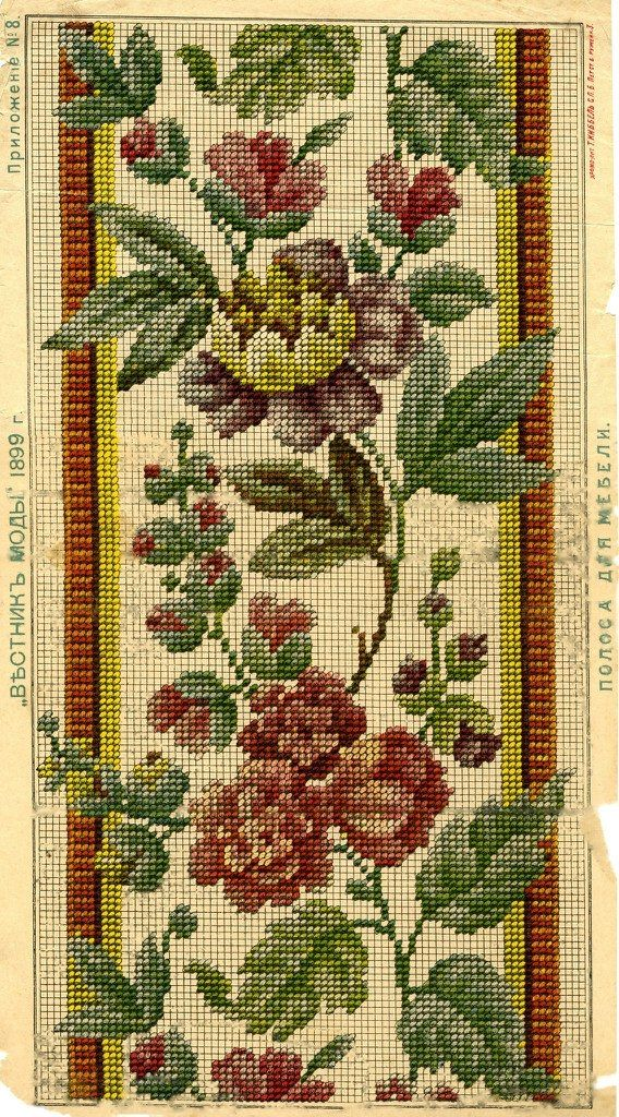 Vintage embroidery scheme | 27 photos | VK