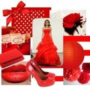 Bruiloft Thema Rood