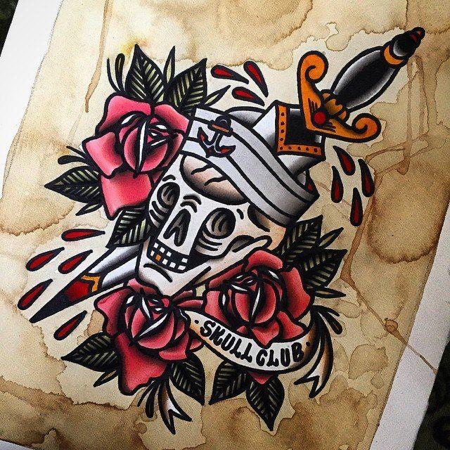 Skullclub by Dennis Seide
