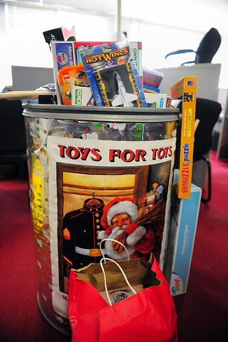 Toys For Tots Ideas : Marines deliver toys for tots marine corps and